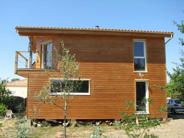 Photo Maisons bois avec bardage douglas