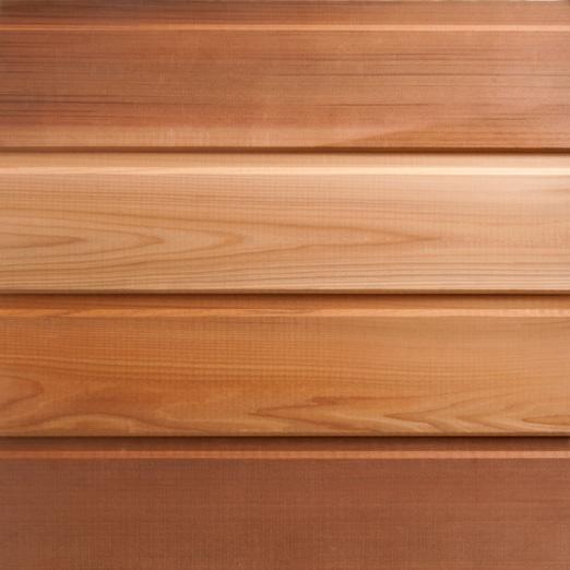 Photo Maison bois avec bardage en red cedar: