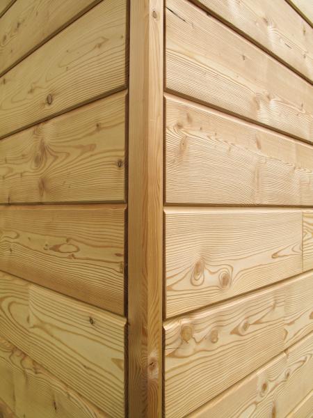 Photo Maison bois avec bardage large :