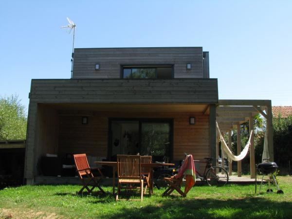 Photo Maison à ossature bois construite à Nantes en Loir
