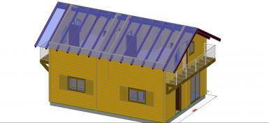 Photo  en kit 96 m²