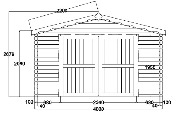Construction garage en bois - Construction garage permis de construire ...