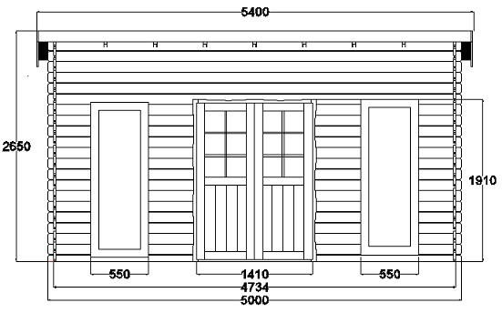 Maison de jardin avec ossature bois Nice - 25 m² 25 m² : 7899 € TTC ...