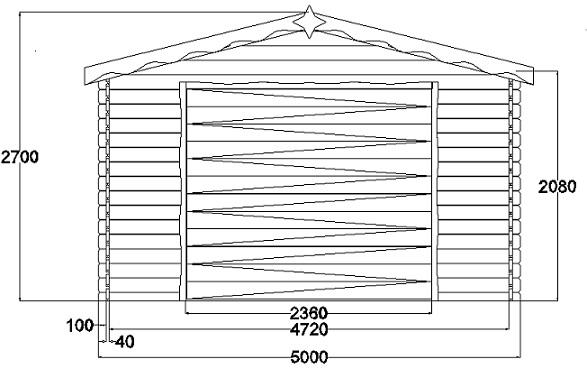 Garage en bois # Plan De Garage En Bois