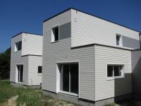 Maison ossature bois Rhône 69, trois maisons b