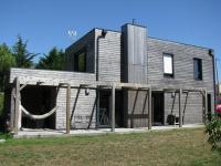 Maison ossature bois Maison à ossature bois construite à Nantes en Loir
