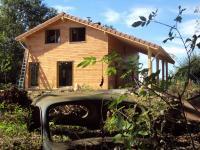 Maison ossature bois région Rhones Alpes dans le département d'Ain