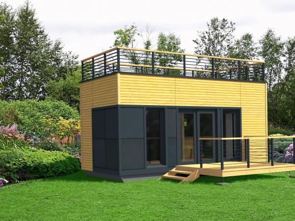 studio de jardin en bois, clé en main