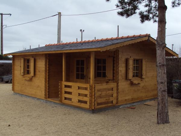 construction de chalets en bois en kits