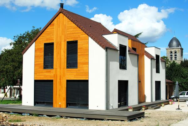 Constructeur Maison Bois France Maison Passive Et Maison Ossature Bois