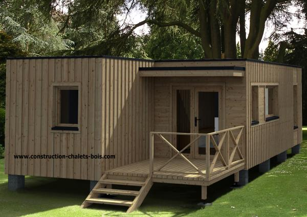 photo chalets en kit en bois du slider 5