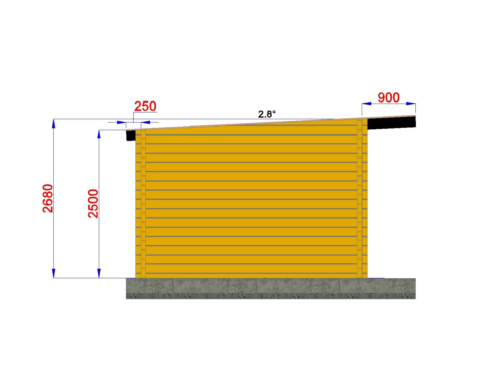 Maison de jardin avec ossature bois 20m porte - Bureau de jardin prix ...