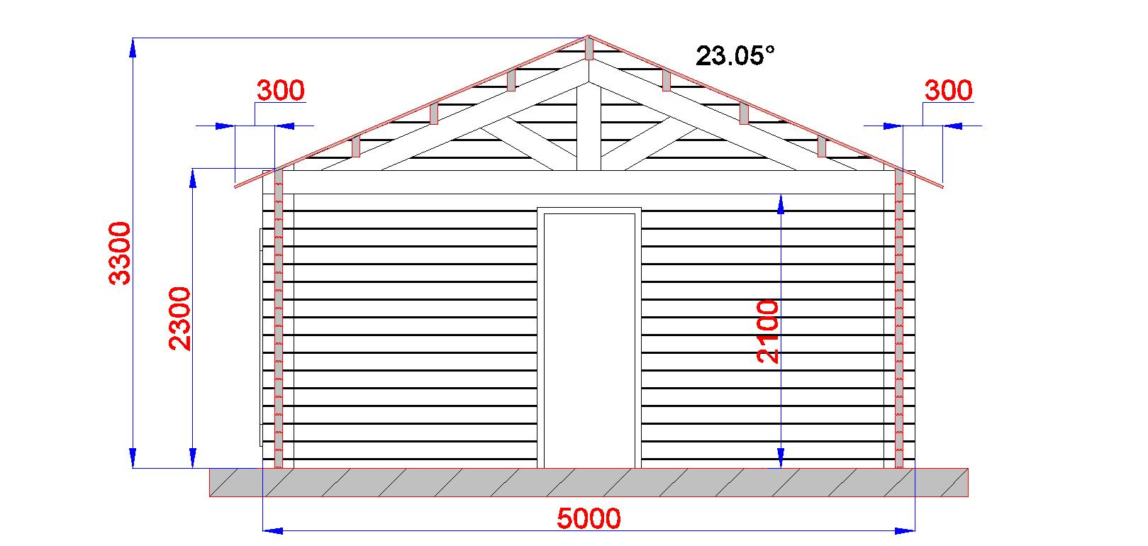 Garage en bois - Plan de bureau en bois ...