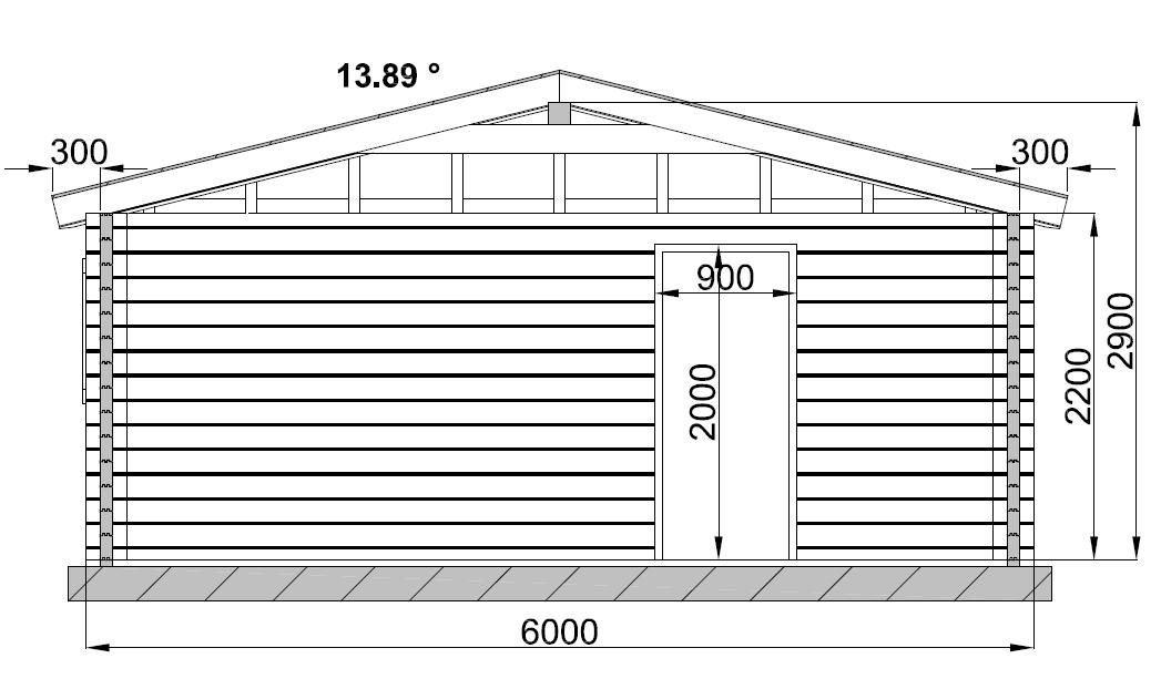 Garage en bois for Acheter des plans de construction
