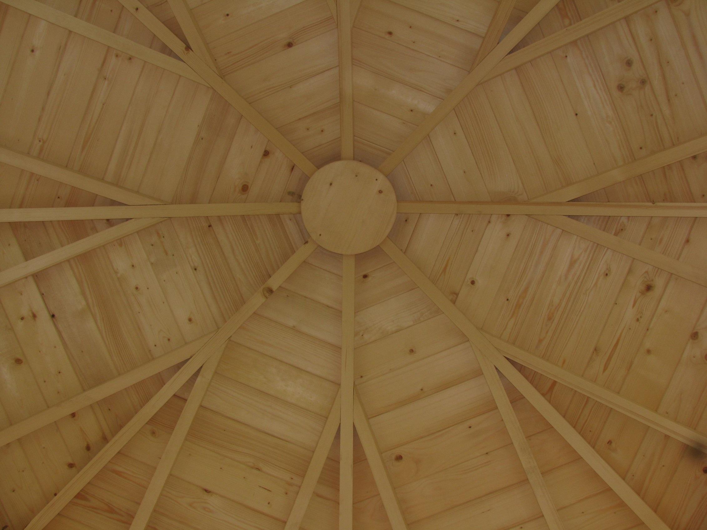 Plan charpente bois hexagonale obtenez des - Architecture du bois ...