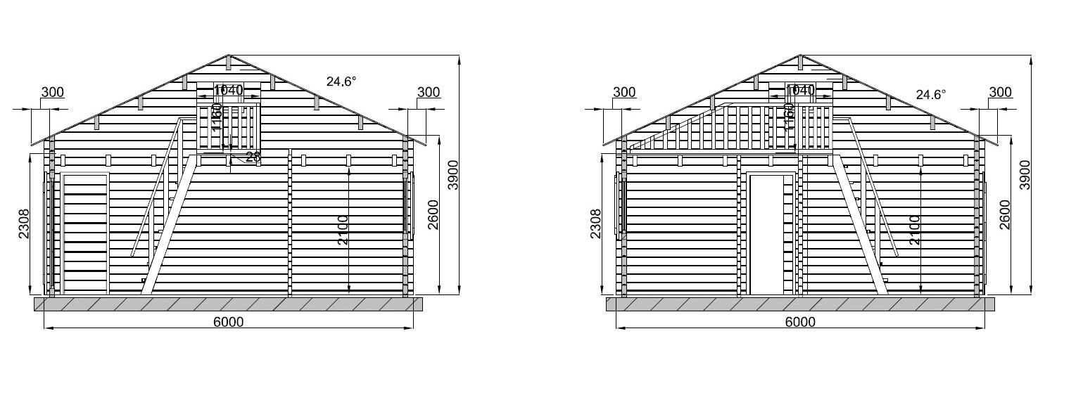 plan  en kit de 108m²